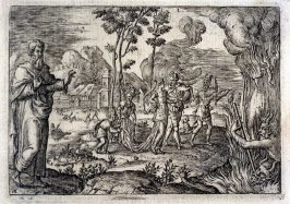 Moral Allegories (15 from the set of 20 engravings)