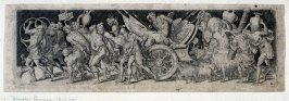 Combats and triumphs: Triumphal Procession (7 from a series of 12 engravings)