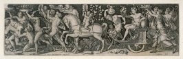 Combats and triumphs: The Triumph of Bacchus (7 from a series of 12 engravings)
