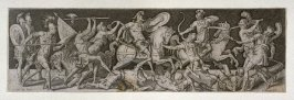 Combats and triumphs: Warriors in Combat (7 from a series of 12 engravings)