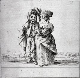 Plate from the series Facetieuses Inventions D'amour Et De Guerre, after Stefano della Bella