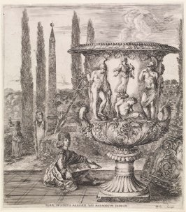 The Medici Vase, from the series Six Large Views of Rome and the Countryside