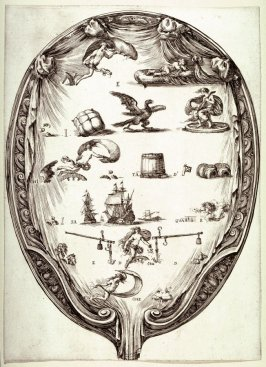 A Screen with a Rebus about Fortune