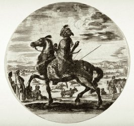 An African Rider, from the series Cavaliers nègres, polonais et hongrois
