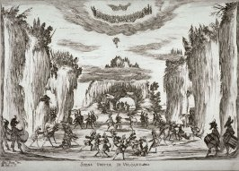 Scena Grotta Di Volcano (Vulcan's Grotto), from the series Le Nozze Degli Dei (The Weddings of the Gods)