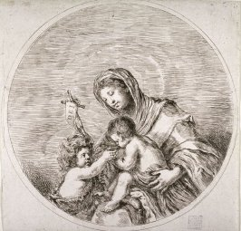 Virgin And Child With Young St. John