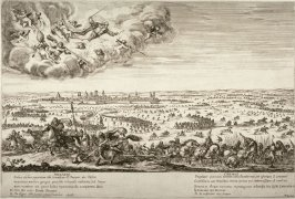 St. Prosper Delivering The City Of Reggio Emilia from an Attacking Army
