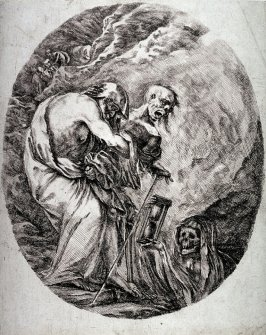 Death with an Old Man, from the series The Five Deaths