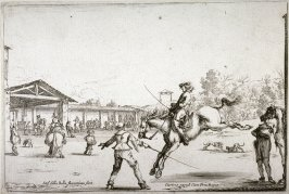 Le manége (The riding school) from the series Varie Figure