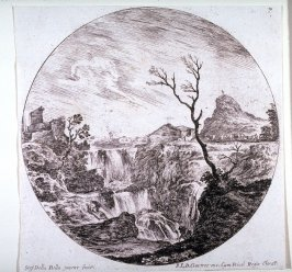The Triple Waterfall, from the series Landscapes and Ruins of Rome