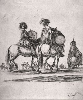 Soldiers on Horseback, from the series Divers exercices de cavalerie