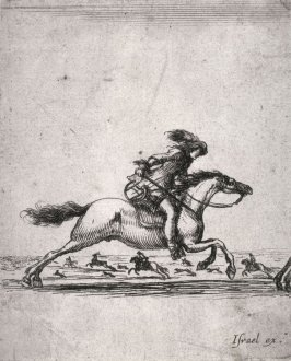 Soldier on a Running Horse, from the series Divers exercices de cavalerie