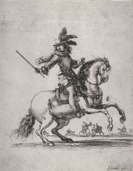 Soldier on a Rearing Horse, from the series Divers exercices de cavalerie
