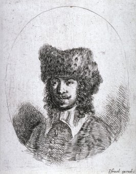 Head of a Man in a Fur Hat, from the series Diverses testes et figures