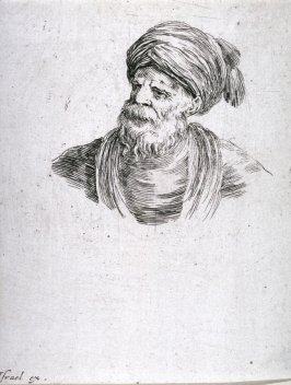 Bust of a Man in a Soft Hat, from the series Diverses testes et figures