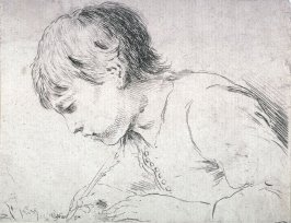 Head of a Boy Writing, from the series Diverses testes et figures