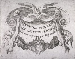 Title Page, from the series Diverses figures et griffonnements