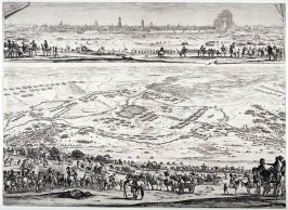 Plan and view of the city of Arras