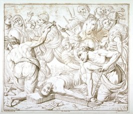 Christ Bound to the Cross, afer Ercole Procaccini
