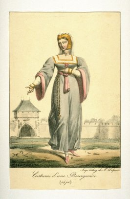 Costume of a Middle-class Woman