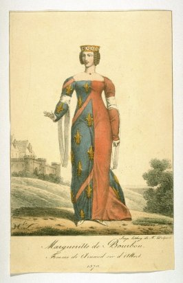 Margueritte of Bourbon, 1370
