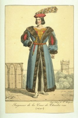 Gentleman of the court of Charles VIII, 1490