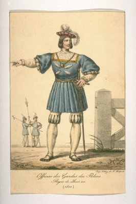 Officer of the palace guard,Louis XII, 1510