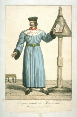 Gentleman in 15th century French Costume