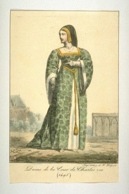 Lady in ythe court of Charles VIII