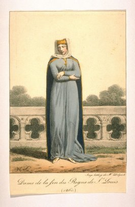 Woman at the end of the reign of St. Louis 1260