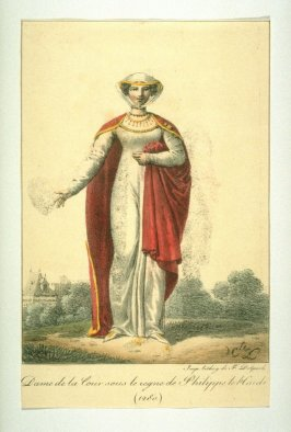 Woman in the court of Philippe the Bold 1280