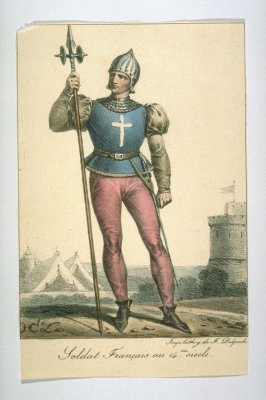 French Soldier of the 14th century