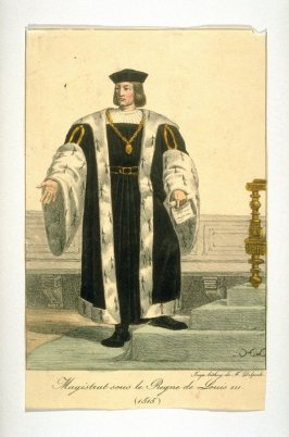 Magistrate during the reign of Louis XII 1515