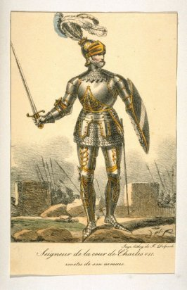 Knight in armor- court of Charles VII