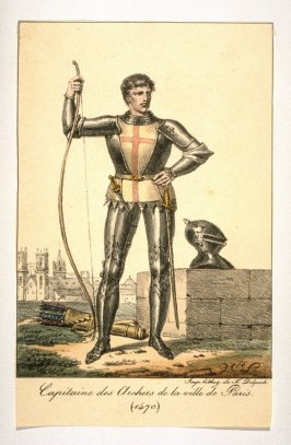 Captain of Archers- The City of Paris 1470