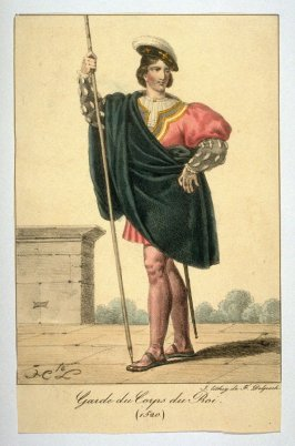 Member of French King's Guard, 1520