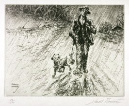 Contentment (Man and Dog)