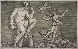 Galatea Escaping Polyphemus, from the series Ancient Bas-reliefs.