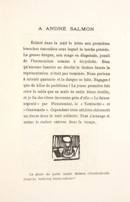 Untitled, illustration 11, in the book Les Œuvres burlesque et mystique de frère matorel, mort au couvent by Max Jacob (Paris: Henry Kahnweiler, 1912)