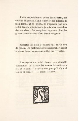 Untitled, illustration 39, in the book Les Œuvres burlesque et mystique de frère matorel, mort au couvent by Max Jacob (Paris: Henry Kahnweiler, 1912)