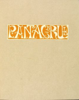 cover for the book Pantagruel by François Rabelais (Paris: Albert Skira, 1943).
