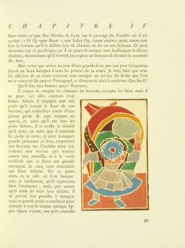 Untitled, pg. 29, in the book Pantagruel by François Rabelais (Paris: Albert Skira, 1943).