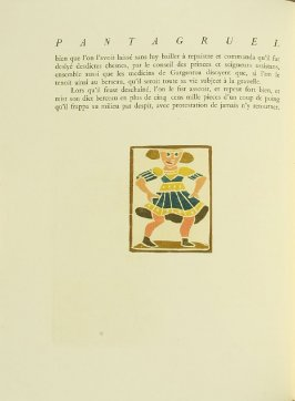Untitled, pg. 30, in the book Pantagruel by François Rabelais (Paris: Albert Skira, 1943).