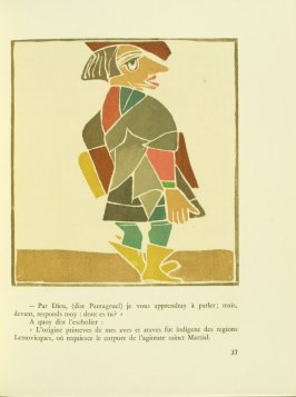 Untitled, pg. 37, in the book Pantagruel by François Rabelais (Paris: Albert Skira, 1943).