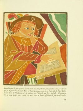 Untitled, pg. 49, in the book Pantagruel by François Rabelais (Paris: Albert Skira, 1943).