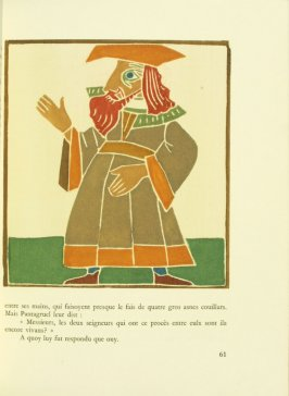 Untitled, pg. 61, in the book Pantagruel by François Rabelais (Paris: Albert Skira, 1943).