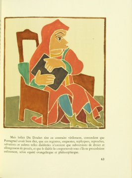 Untitled, pg. 63, in the book Pantagruel by François Rabelais (Paris: Albert Skira, 1943).