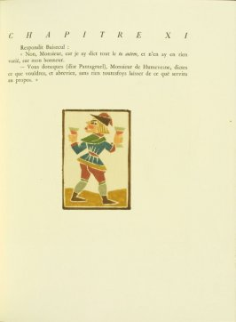 Untitled, pg. 69, in the book Pantagruel by François Rabelais (Paris: Albert Skira, 1943).