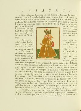 Untitled, pg. 72, in the book Pantagruel by François Rabelais (Paris: Albert Skira, 1943).