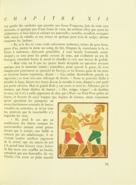 Untitled, pg. 73, in the book Pantagruel by François Rabelais (Paris: Albert Skira, 1943).